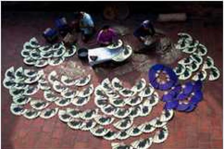 Handicraft Works in Vietnam